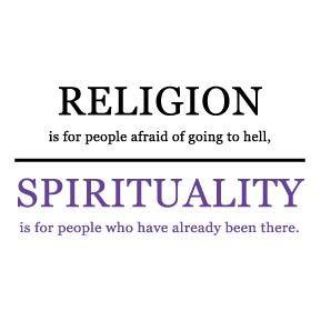 SPIRITUAL NOT RELIGIOUS (1/2)